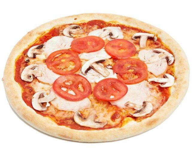 Подарочная Пицца с копченой курицей