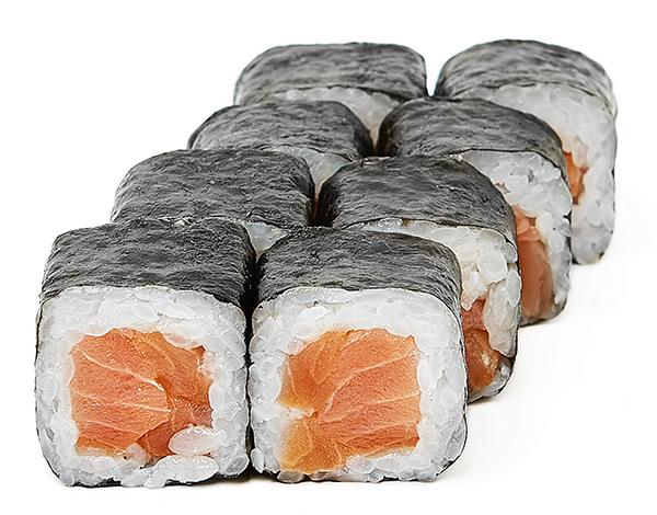 Хосомаки с копченым лососем