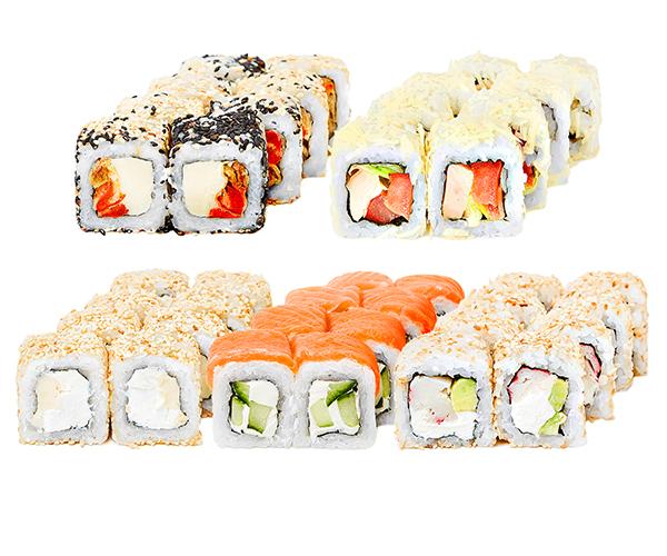 Заказать суши и роллы в Херсоне